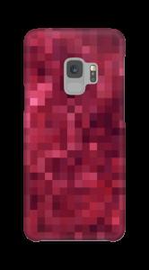Pixels rosa Capa Galaxy S9