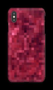 Pixels rosa Capa IPhone XS Max