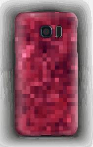 Pixels rosa Capa Galaxy S6