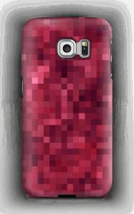Pixels rosa Capa Galaxy S6 Edge