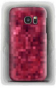 Pixels rosa Capa Galaxy S7
