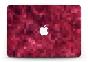 "Pixelisé rose Skin MacBook Pro Retina 13"" 2015"