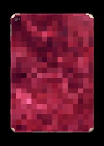 Rosarøde pixler Skin IPad Air 2