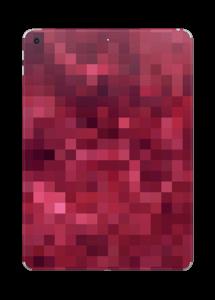 Pixels rosa Skin IPad 2017