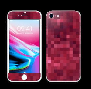 Pixels rosa Skin IPhone 8