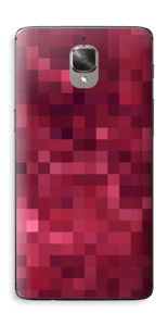 Pixels rosa Skin OnePlus 3