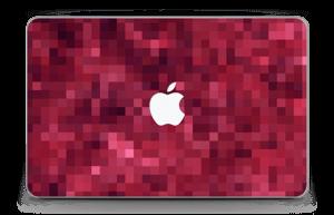 """Rosarøde pixler Skin MacBook Air 11"""""""
