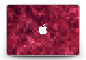 "Rosarøde pixler Skin MacBook Pro 13"" -2015"