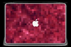 "Píxel Rojo Vinilo  MacBook Pro 15"" -2015"