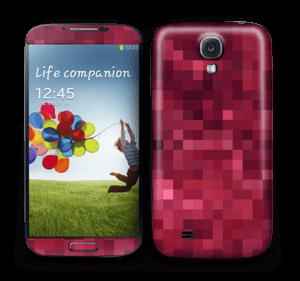 Red pixles Skin Galaxy S4