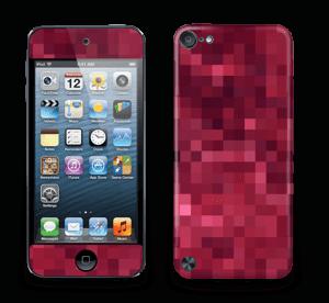 Pixels rosa Skin IPod Touch 5th Gen