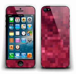 Red pixles Skin IPhone 5