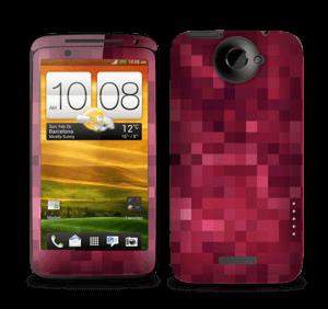 Pixels rosa Skin One X