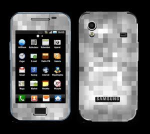 Svart-hvit pixel Skin Galaxy Ace