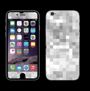 Svart-hvit pixel Skin IPhone 6/6s