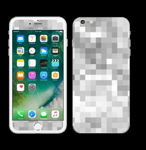 Svart-hvit pixel Skin IPhone 6 Plus
