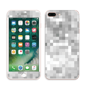 Svart-hvit pixel Skin IPhone 7 Plus