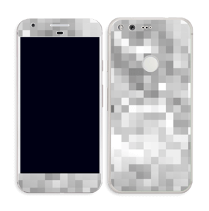 Svart-hvit pixel Skin Pixel