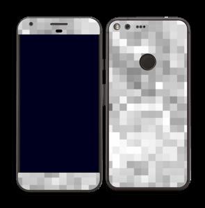 Svart-hvit pixel Skin Pixel XL