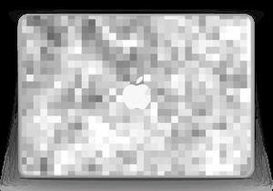 """Svart-hvit pixel Skin MacBook Pro 13"""" -2015"""