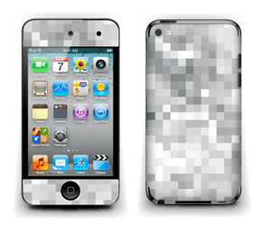 Svart-hvit pixel Skin IPod Touch 4th Gen