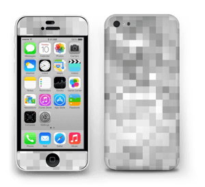 Svart-hvit pixel Skin IPhone 5c