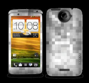 Svart-hvit pixel Skin One X