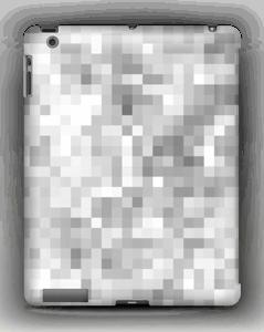 Harmaa pikseli kuoret IPad 4/3/2