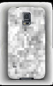 Harmaa pikseli kuoret Galaxy S5
