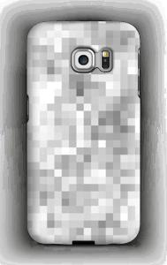 Harmaa pikseli kuoret Galaxy S6 Edge
