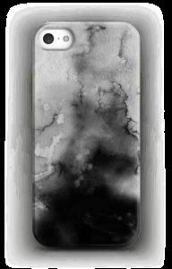 Wit & zwarte inkt hoesje IPhone SE