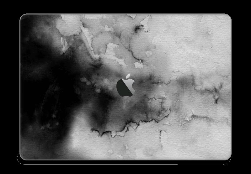 Stilig i svart Skin MacBook Pro Touch Bar 15