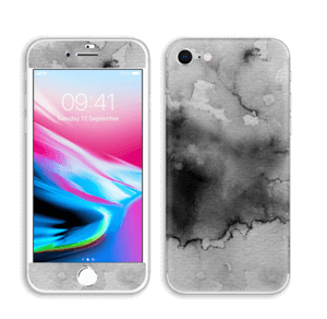 Stilig i svart Skin IPhone 8