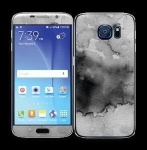 Stilig i svart Skin Galaxy S6