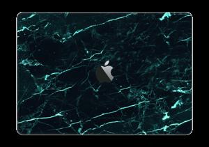 """Grønn og svart marmor Skin MacBook Pro 13"""" 2016-"""