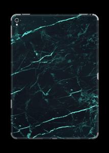 Grønn og svart marmor Skin IPad Pro 9.7