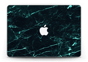 """Grønn og svart marmor Skin MacBook Pro Retina 13"""" 2015"""