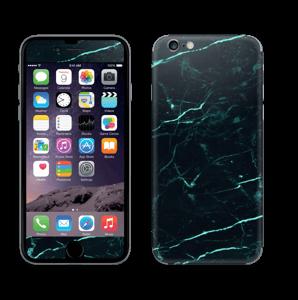 Grønn og svart marmor Skin IPhone 6/6s