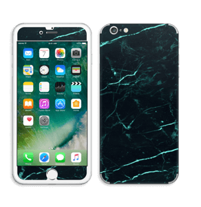 Grønn og svart marmor Skin IPhone 6 Plus
