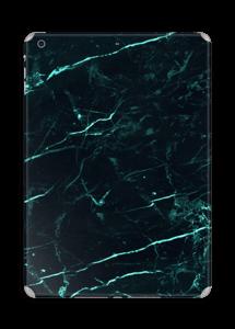 Grønn og svart marmor Skin IPad Air