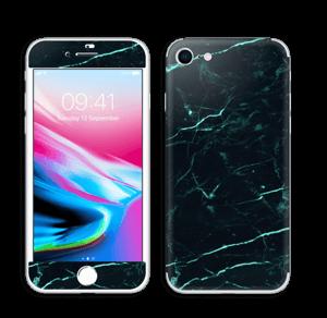 Preto e verde Skin IPhone 8