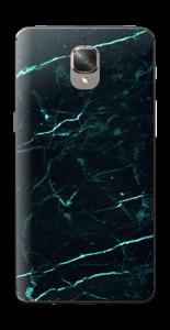Grønn og svart marmor Skin OnePlus 3T