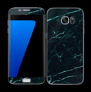 Preto e verde Skin Galaxy S7 Edge