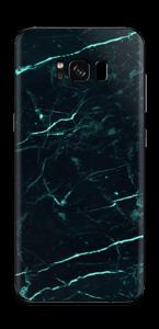 Grønn og svart marmor Skin Galaxy S8 Plus