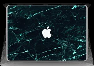 Grønn og svart marmor Skin MacBook Pro 13