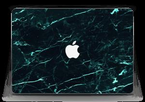Grønn og svart marmor Skin MacBook Air 13