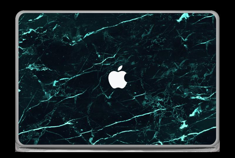 """Grønn og svart marmor Skin MacBook Pro 17"""" -2015"""
