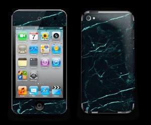 Grønn og svart marmor Skin IPod Touch 4th Gen