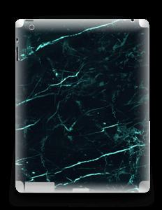 Grønn og svart marmor Skin IPad 4/3/2