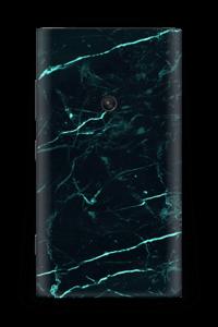 Grønn og svart marmor Skin Nokia Lumia 920